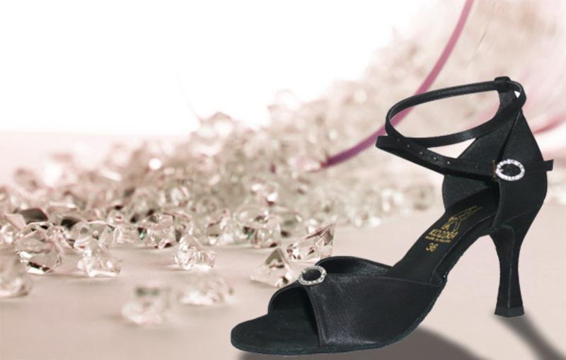 Taneční boty KOZDRA - Dámské taneční boty latina kat.č.27 - velikost 33 79b9147655