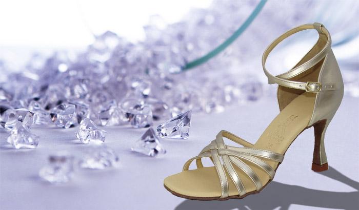 Taneční boty KOZDRA - Dámské taneční boty latina kat.č.32 - velikost 33 411dc8abe0