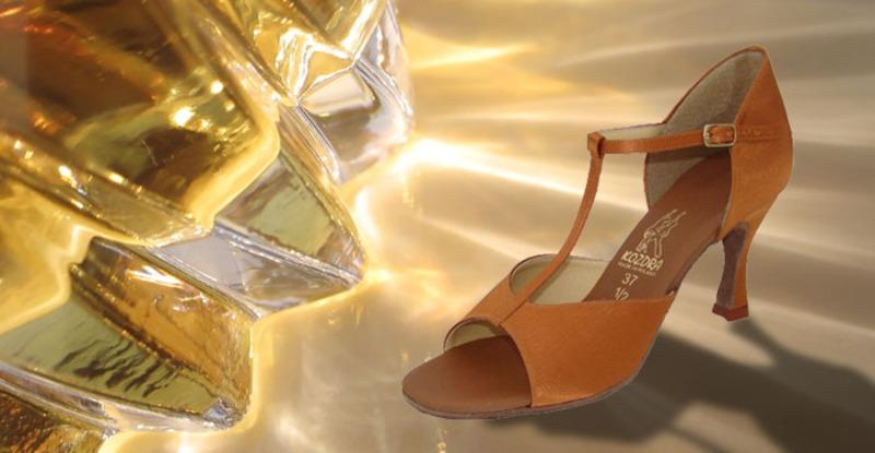 Taneční boty KOZDRA - Dámské taneční boty latina kat.č.34 - velikost 33 3f2b93c450