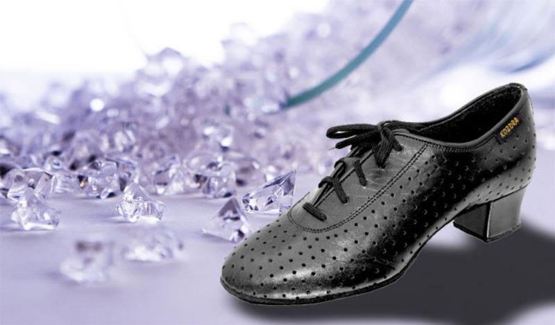 285e93a2f32 Taneční boty KOZDRA - Dámské tréninkové taneční boty latina standard ...