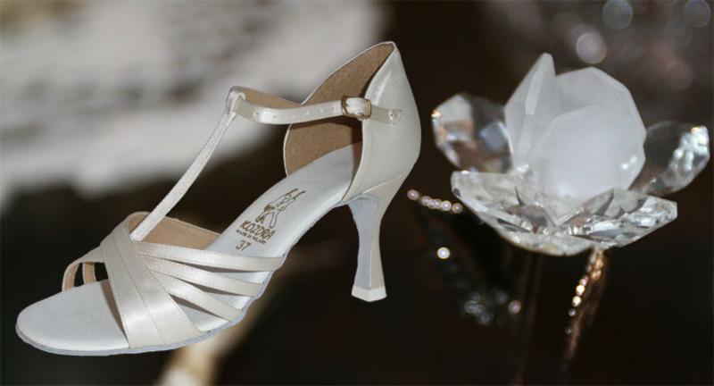 8a2fdd2fe36 Taneční boty KOZDRA - Dámské svatební boty kat.č. 213 - velikost 33