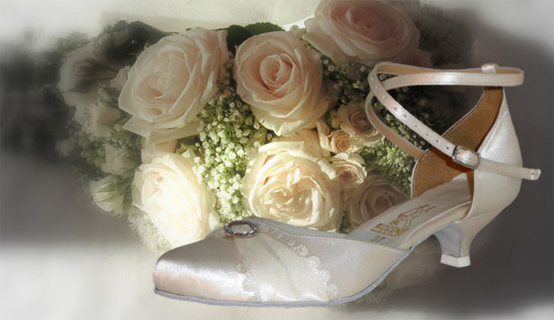 6c672fe8ee2 Taneční boty KOZDRA - Dámské svatební boty kat.č. 228 - velikost 35.5