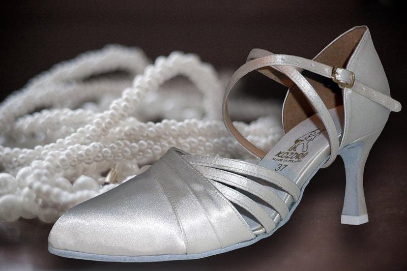 04a776794d9 Taneční boty KOZDRA - Dámské svatební boty kat.č. 219 - velikost 35.5