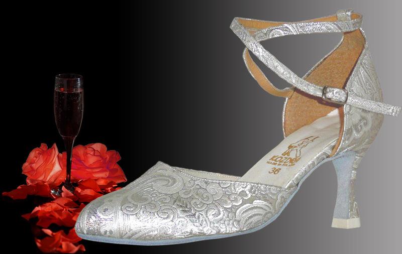 ca0fcdb620b Taneční boty KOZDRA - Dámské svatební boty kat.č. 211 - velikost 33