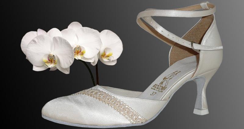 Taneční boty KOZDRA - Dámské svatební boty kat.č. 215 - velikost 33 9efc2bcfa5