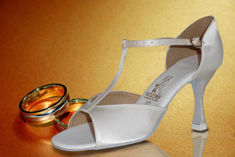 ac985e72812 Taneční boty KOZDRA - Dámské svatební boty kat.č. 217 - velikost 35.5