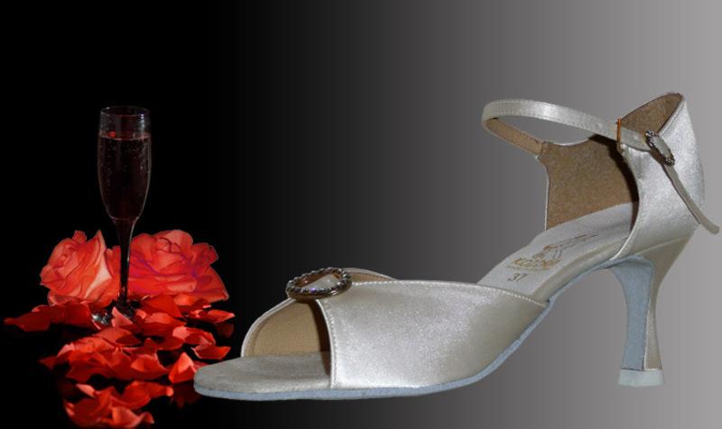 ff563ac5732 Taneční boty KOZDRA - Dámské svatební boty kat.č. 221 - velikost 35